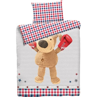 """Детский 1,5 спальный комплект постельного белья """"Boofle Boxing""""  """"Boofle"""" Бязь импортная"""