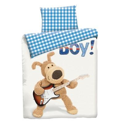 """Детский 1,5 спальный комплект постельного белья """"Boofle Boy""""  """"Boofle"""" Бязь импортная"""