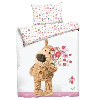 """Детский 1,5 спальный комплект постельного белья """"Boofle Girl""""  """"Boofle"""" Бязь импортная"""