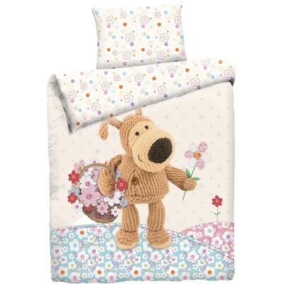 """Детский 1,5 спальный комплект постельного белья """"Boofle на поляне""""  """"Boofle"""" Бязь импортная"""