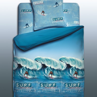 """Детский 1,5 спальный комплект постельного белья """"Surfer""""  """"Unison Teens"""" Биоматин"""